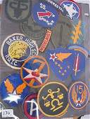 RARE WWII US MILITARY PATCH HUGE LOT AIR FORCE &+