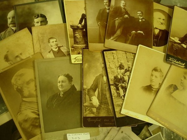 ANTIQUE CABINET PHOTOGRAPH LOT OF 16