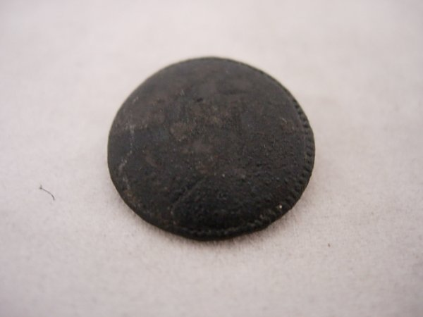 REVOLUTIONARY WAR MILITARY BUTTON 16TH FOOT REG