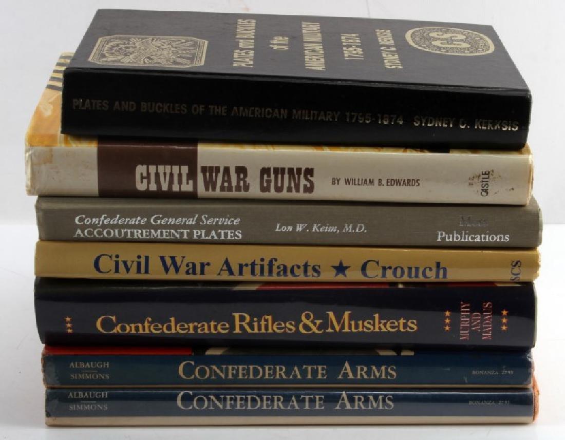 LOT MILITARY BOOKS CIVIL WAR CONFEDERATE