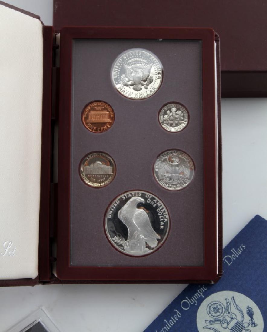 COIN LOT 1980 OLYMPICS 2001 PROOF SET IKE PDS SET - 6