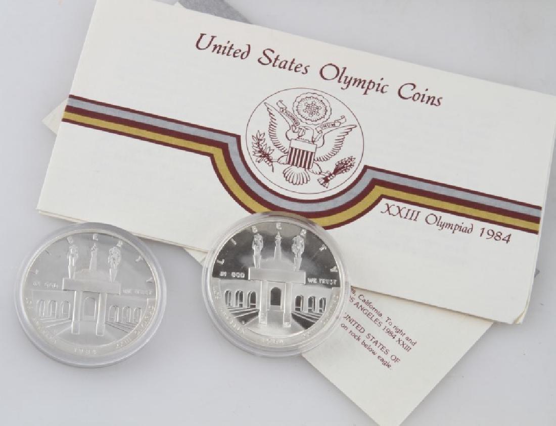 COIN LOT 1980 OLYMPICS 2001 PROOF SET IKE PDS SET - 7