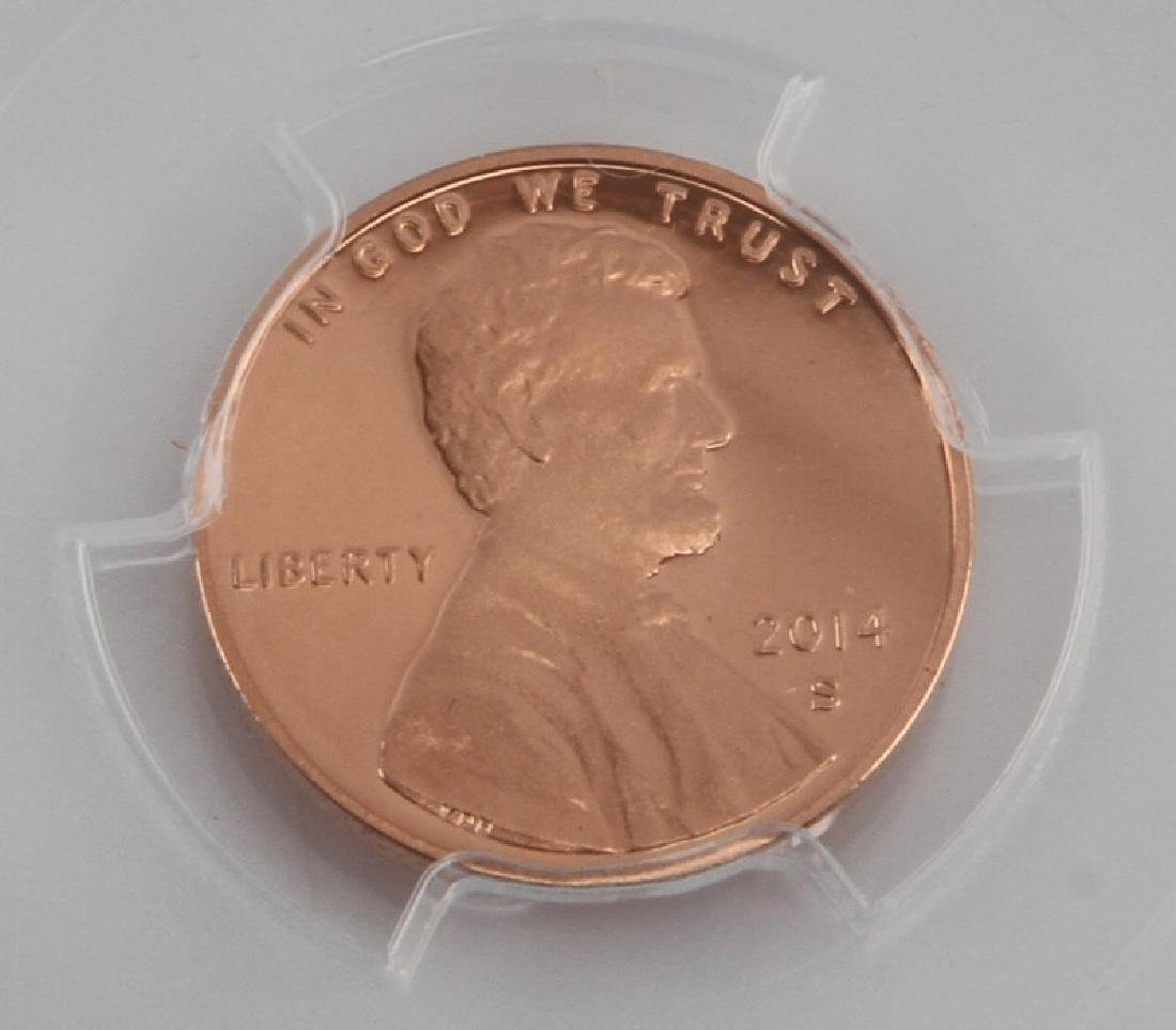 LINCOLN CENT 4 ALL PROOF 70 CHILDHOOD PROFESSIONAL - 7