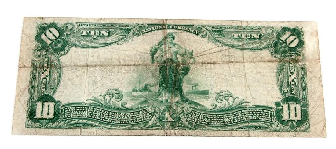 NATIONAL CURRENCY LEXINGTON KY $10 PLAIN BACK - 4