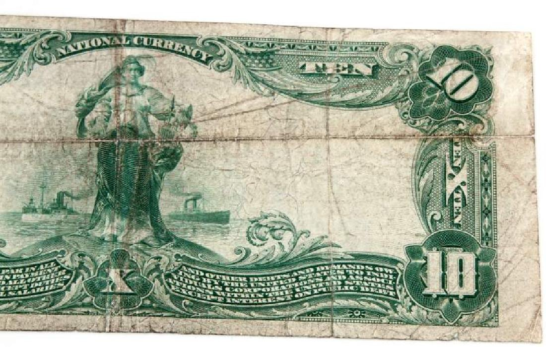 NATIONAL CURRENCY LEXINGTON KY $10 PLAIN BACK - 6