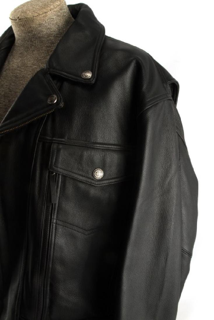 HARLEY DAVIDSON NEVADA JACKET LEATHER XL NEW - 3