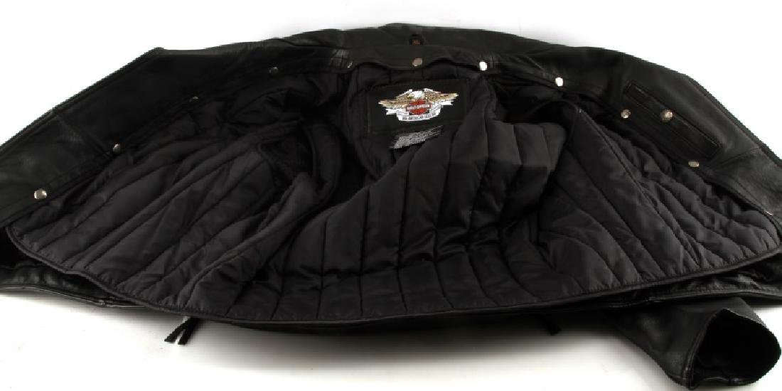 HARLEY DAVIDSON NEVADA JACKET LEATHER XL NEW - 5