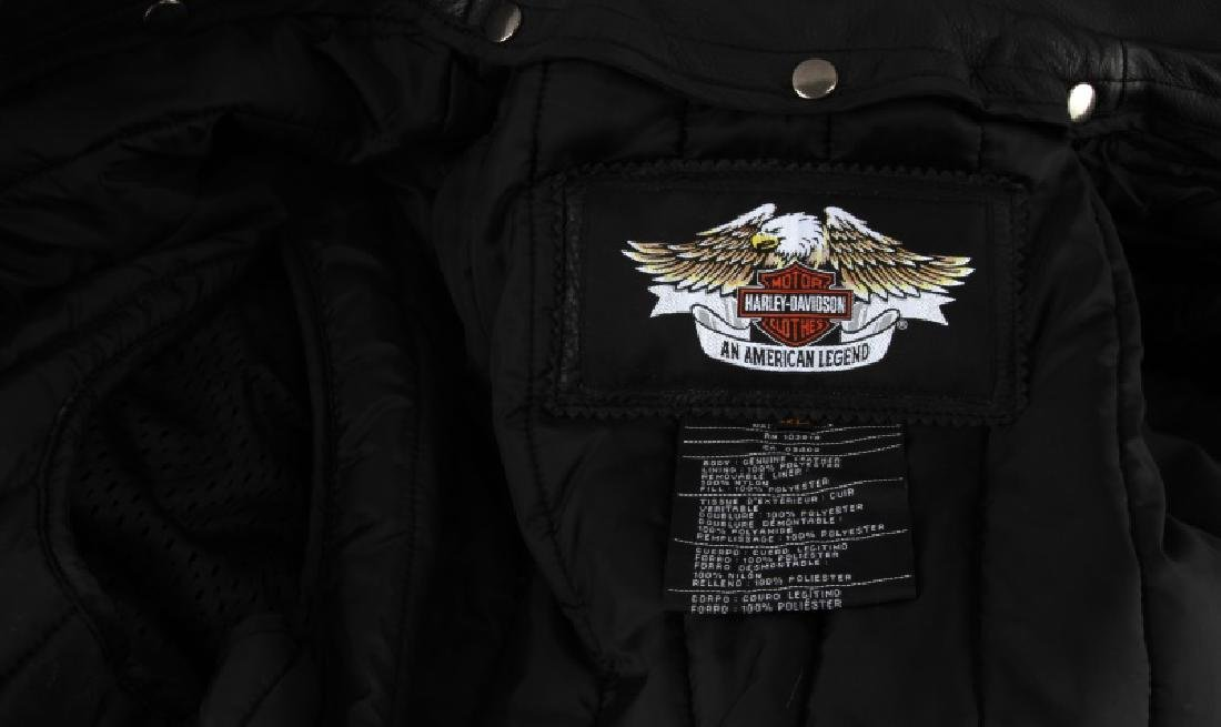 HARLEY DAVIDSON NEVADA JACKET LEATHER XL NEW - 6