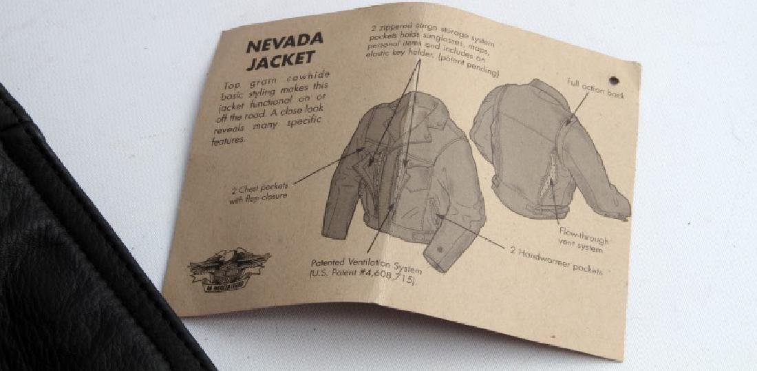 HARLEY DAVIDSON NEVADA JACKET LEATHER XL NEW - 8