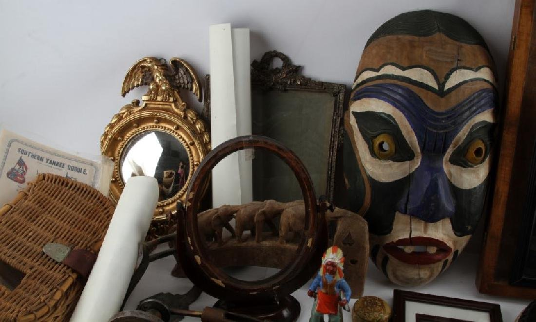 LARGE LOT OF ANTIQUES & COLLECTIBLED BIG VARIETY - 3