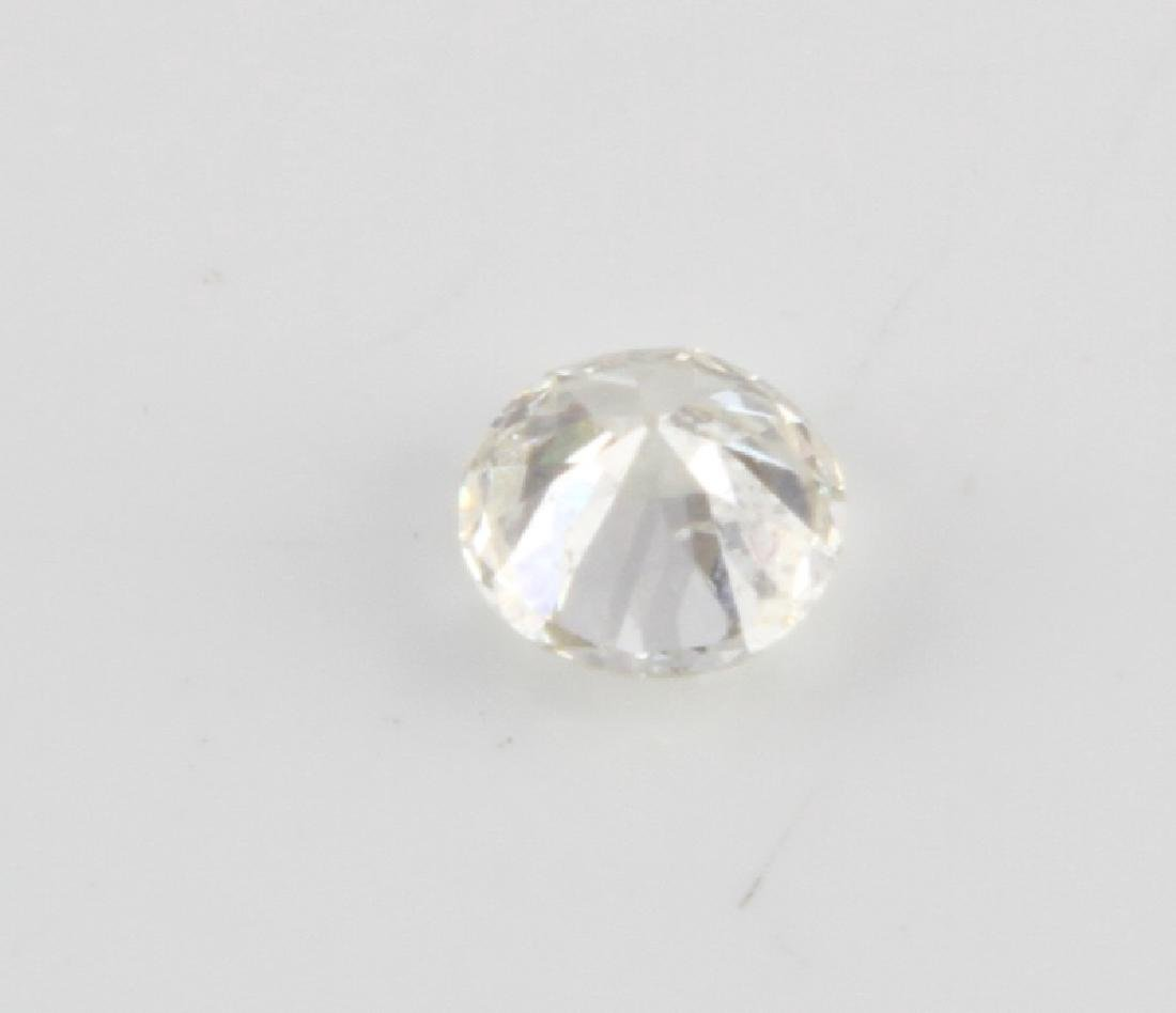 BRILLIANT 1 CARAT ROUND CUT LOOSE DIAMOND 1.03 TCW - 2