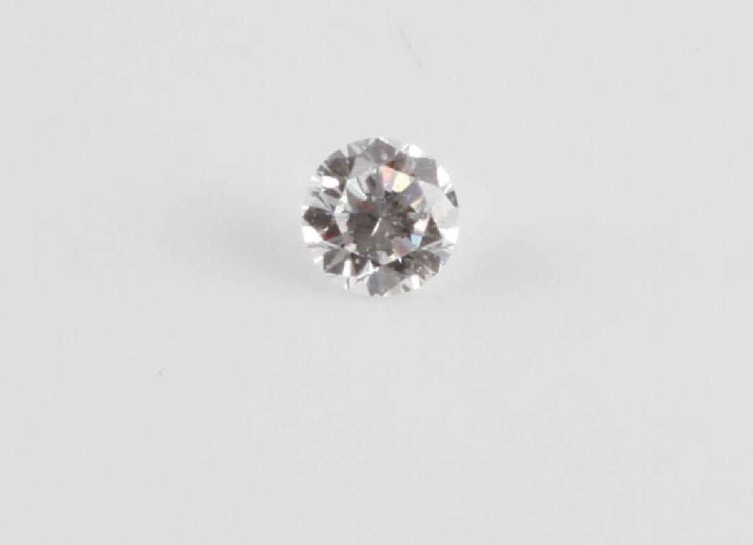 BRILLIANT ROUND CUT LOOSE DIAMOND .36 TCW