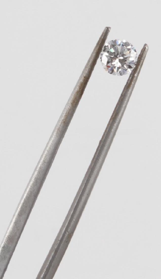 BRILLIANT ROUND CUT LOOSE DIAMOND .36 TCW - 3
