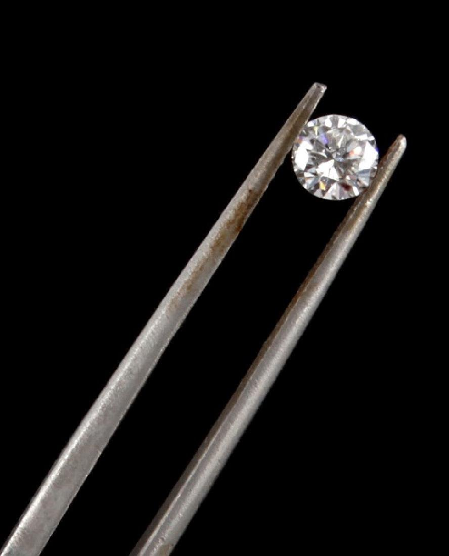 BRILLIANT ROUND CUT LOOSE DIAMOND .36 TCW - 4