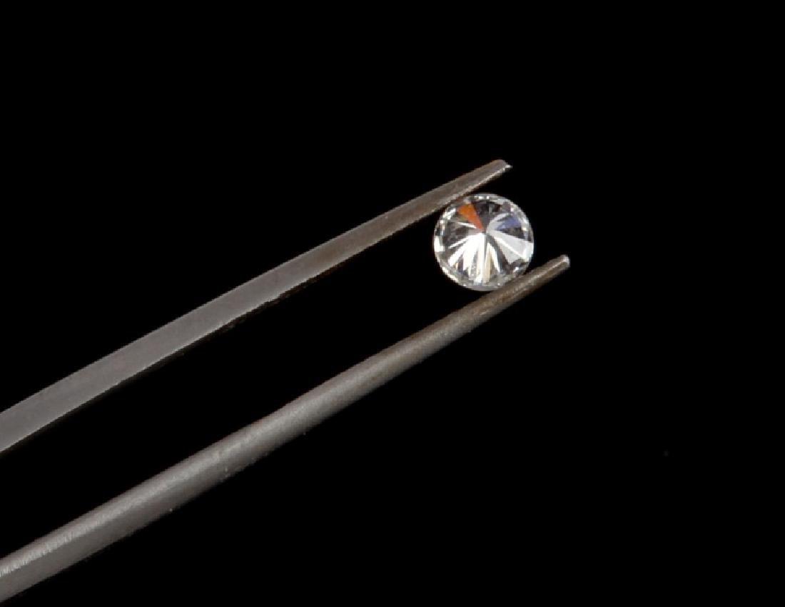 BRILLIANT ROUND CUT LOOSE DIAMOND .36 TCW - 5