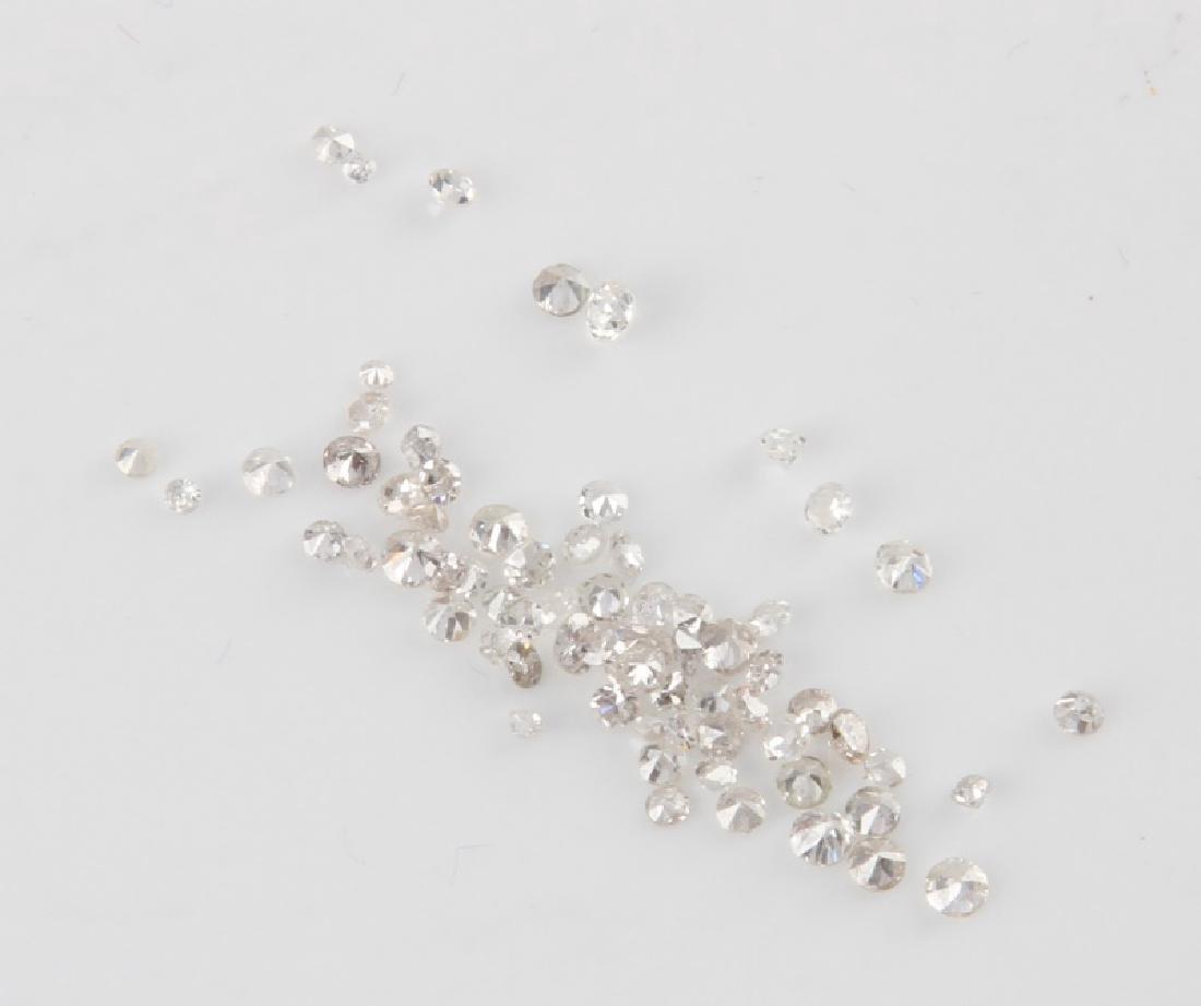 DEALER LOT LOOSE ROUND DIAMONDS MELEE 1.59 TCW - 3