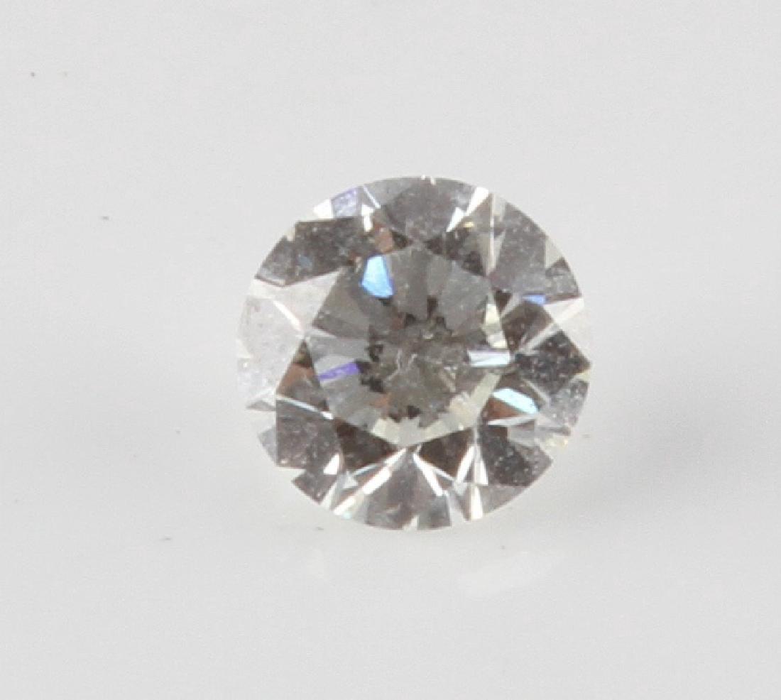 LOOSE ROUND CUT DIAMOND 1.040 TCW