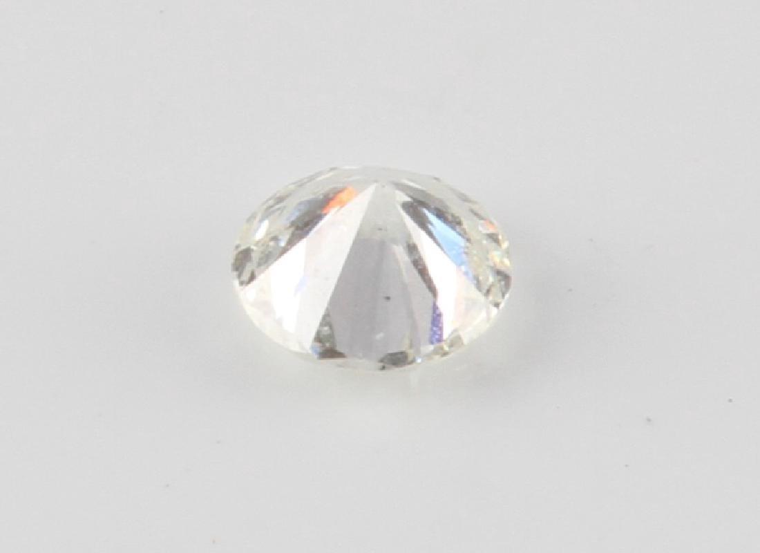 LOOSE ROUND CUT DIAMOND 1.040 TCW - 2