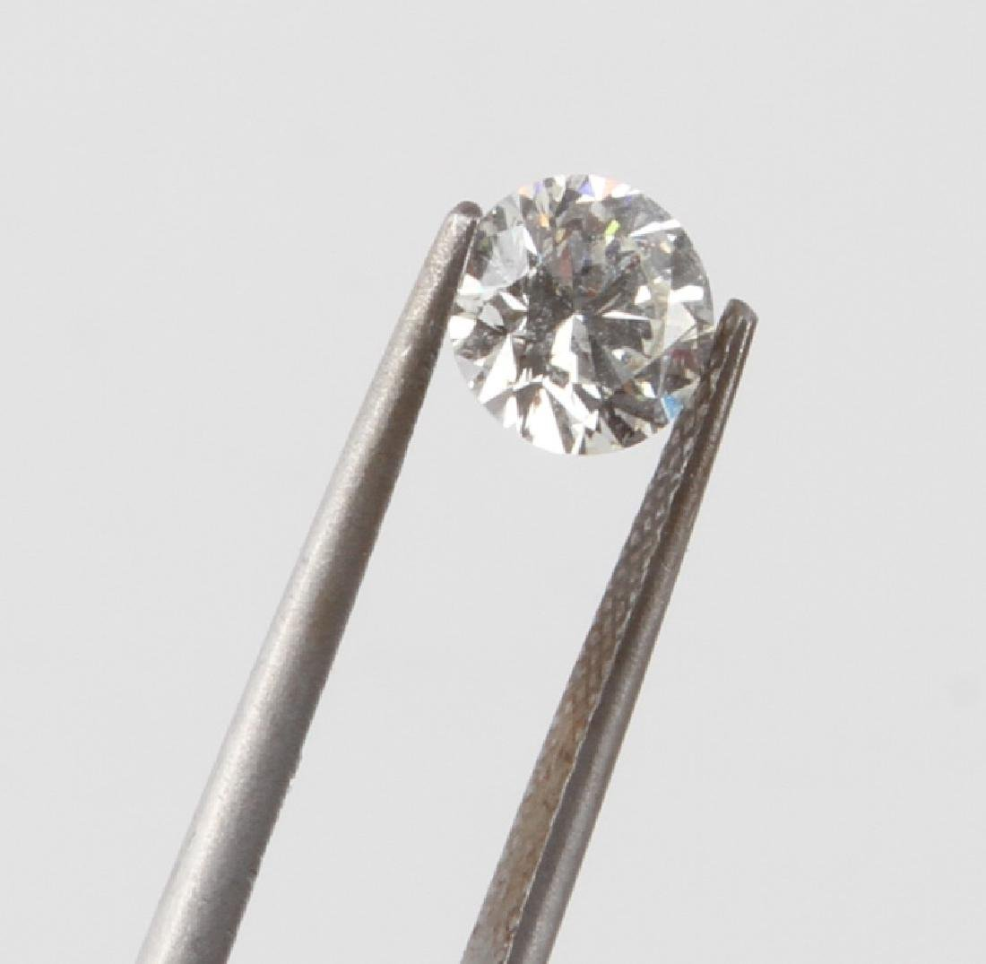 LOOSE ROUND CUT DIAMOND 1.040 TCW - 4