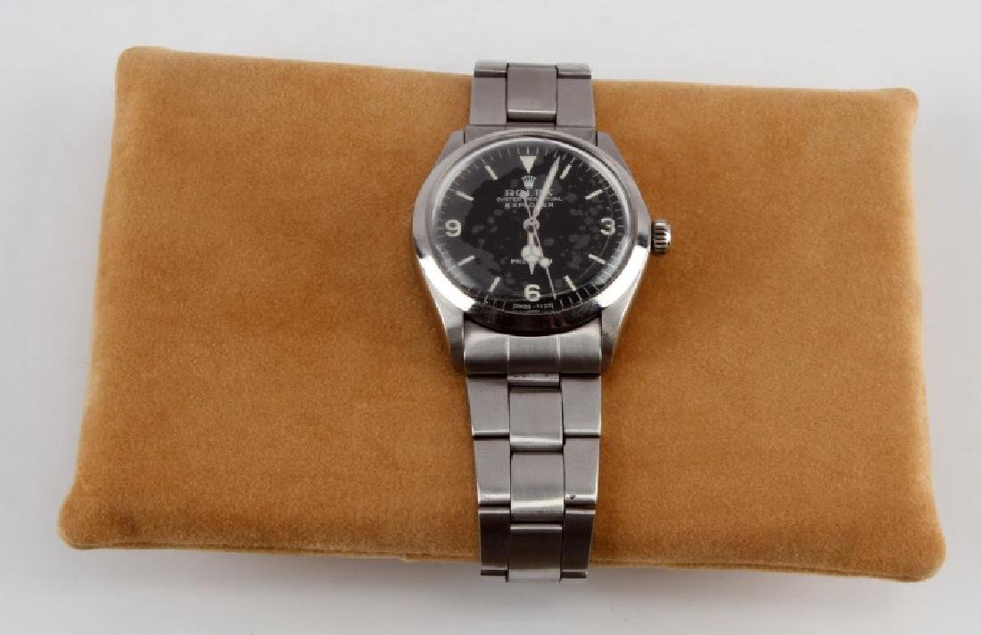 1978 STAINLESS OYSTER PERPETUAL ROLEX  EXPLORER - 2