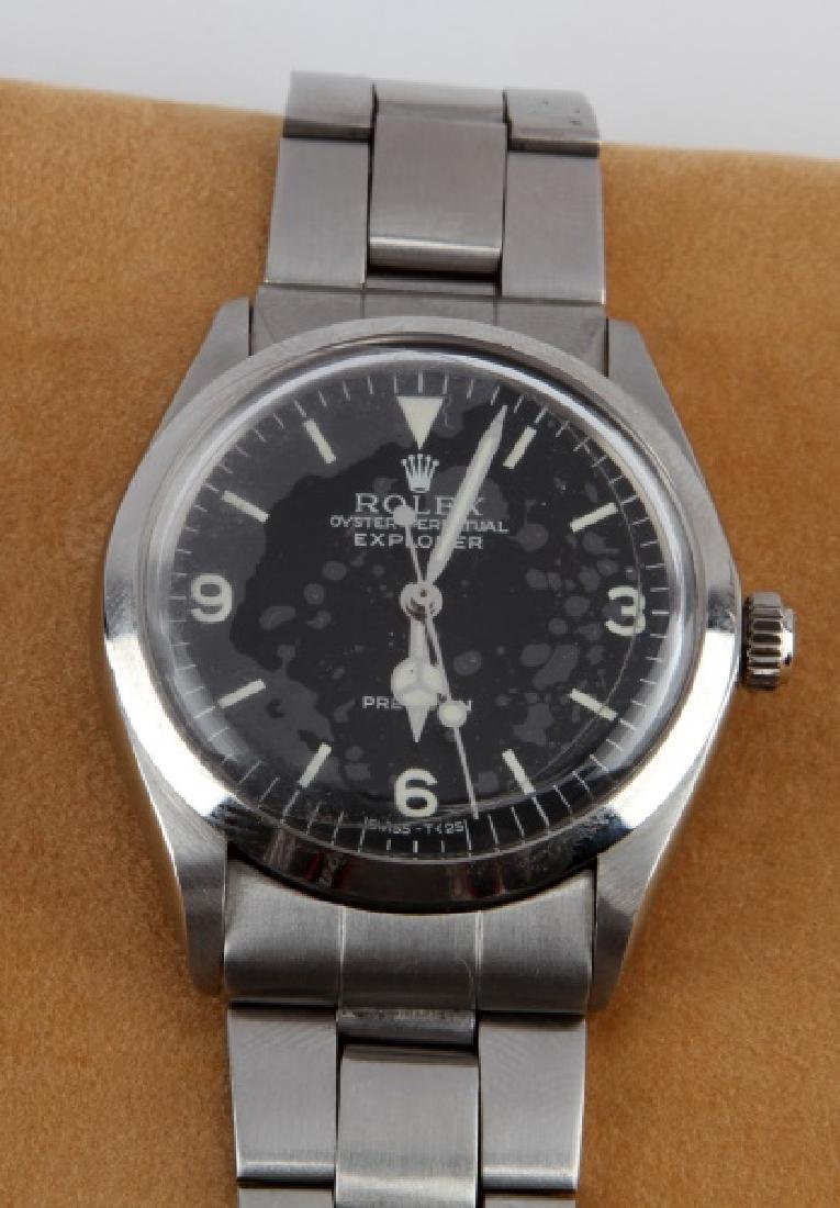 1978 STAINLESS OYSTER PERPETUAL ROLEX  EXPLORER - 3