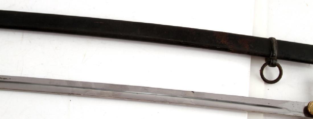 WWII GERMAN HEER ARMY CLOSED WING SWORD WKC - 7