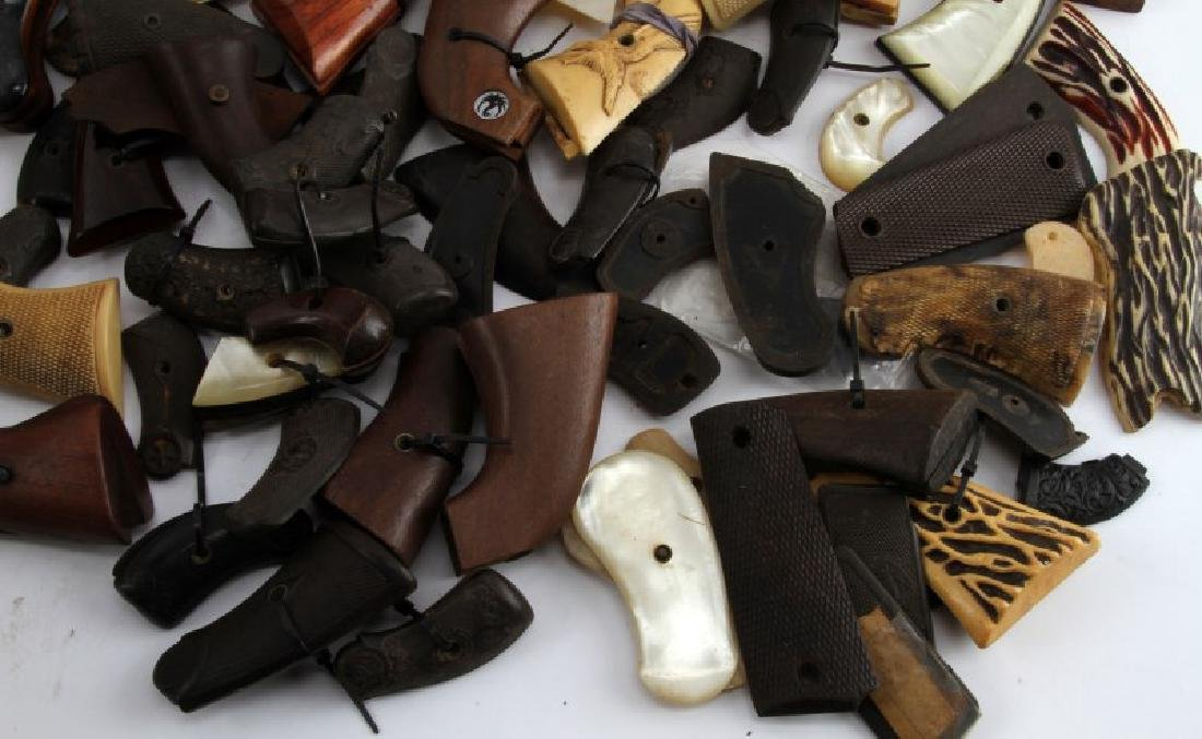 LOT OF 60 PLUS SA  AND DA REVOLVER AND 1911 GRIPS - 4