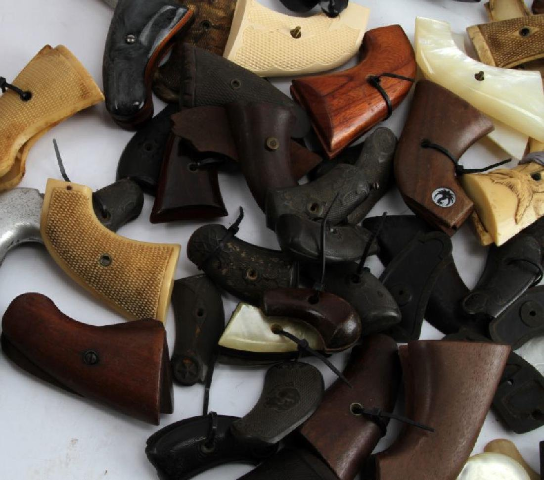 LOT OF 60 PLUS SA  AND DA REVOLVER AND 1911 GRIPS - 5