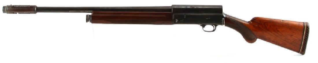 BROWNING A5 1920S BELGIUM 12 GA SEMI AUTO SHOTGUN - 4