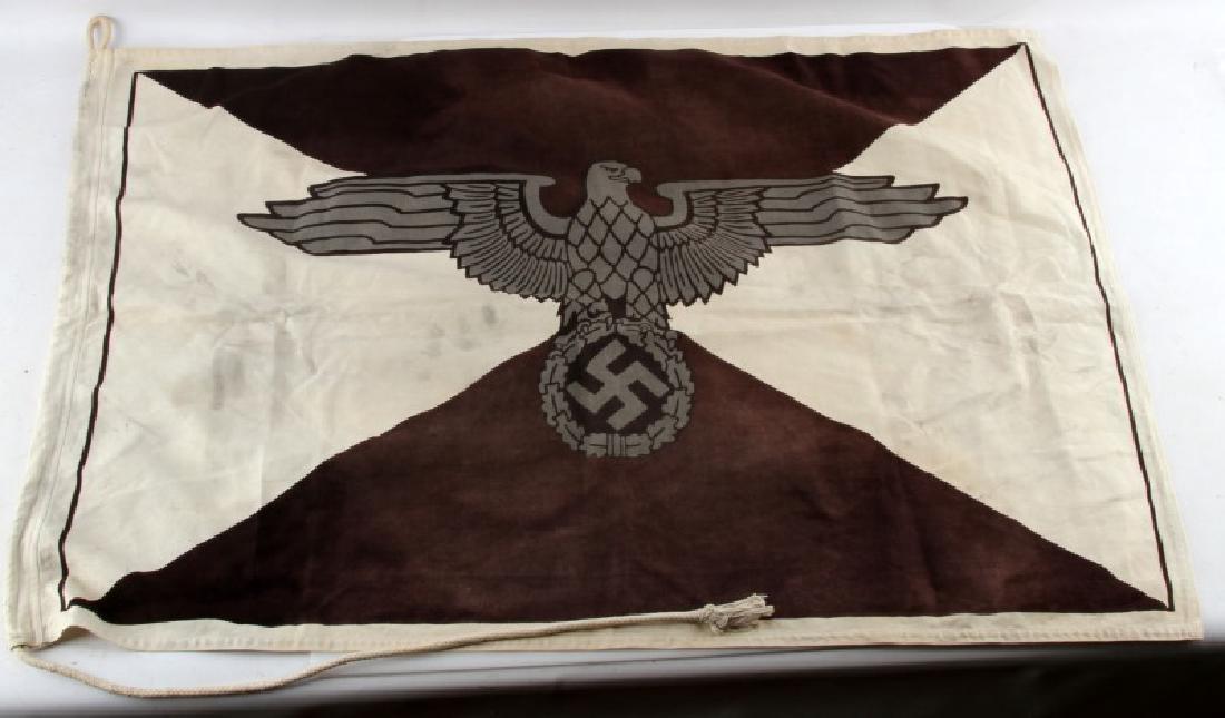 GERMAN WWII HEINRICH HIMMLER PERSONAL FLAG