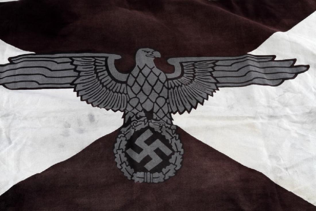 GERMAN WWII HEINRICH HIMMLER PERSONAL FLAG - 2