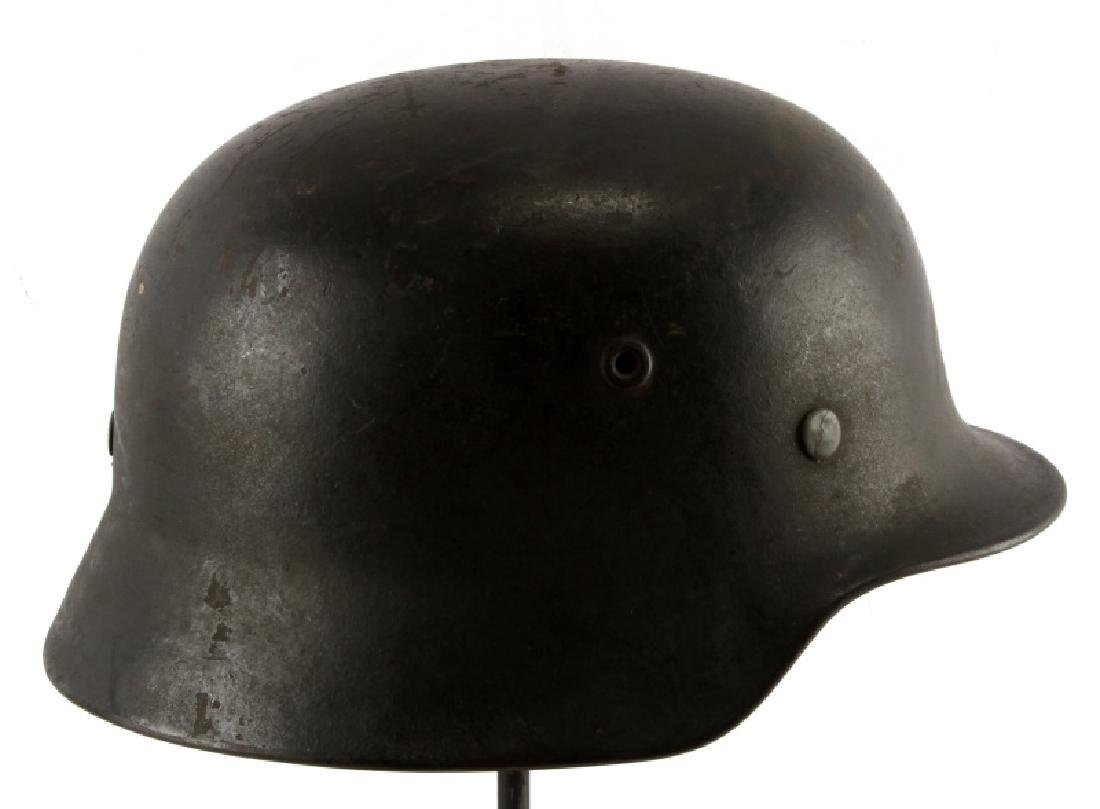 WWII THIRD REICH M40 ARMY HELMET SINGLE DECAL HEER - 2