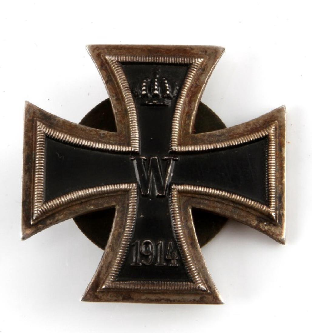 GERMAN WWII EK1 SCREWBACK IRON CROSS 1ST CLASS