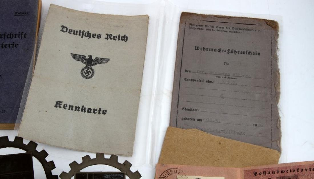 WWI WWII GERMAN MILITARY GROUPING GI BRINGBACK LOT - 3