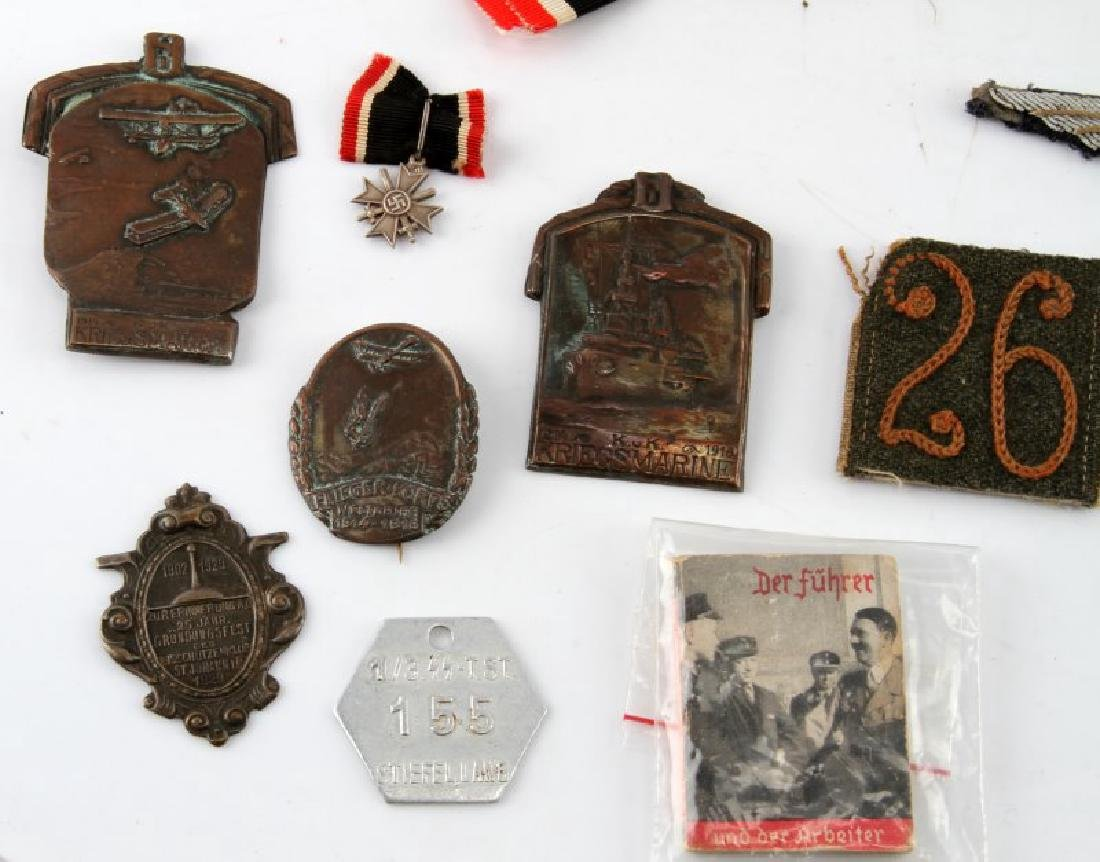 WWI WWII GERMAN MILITARY GROUPING GI BRINGBACK LOT - 6