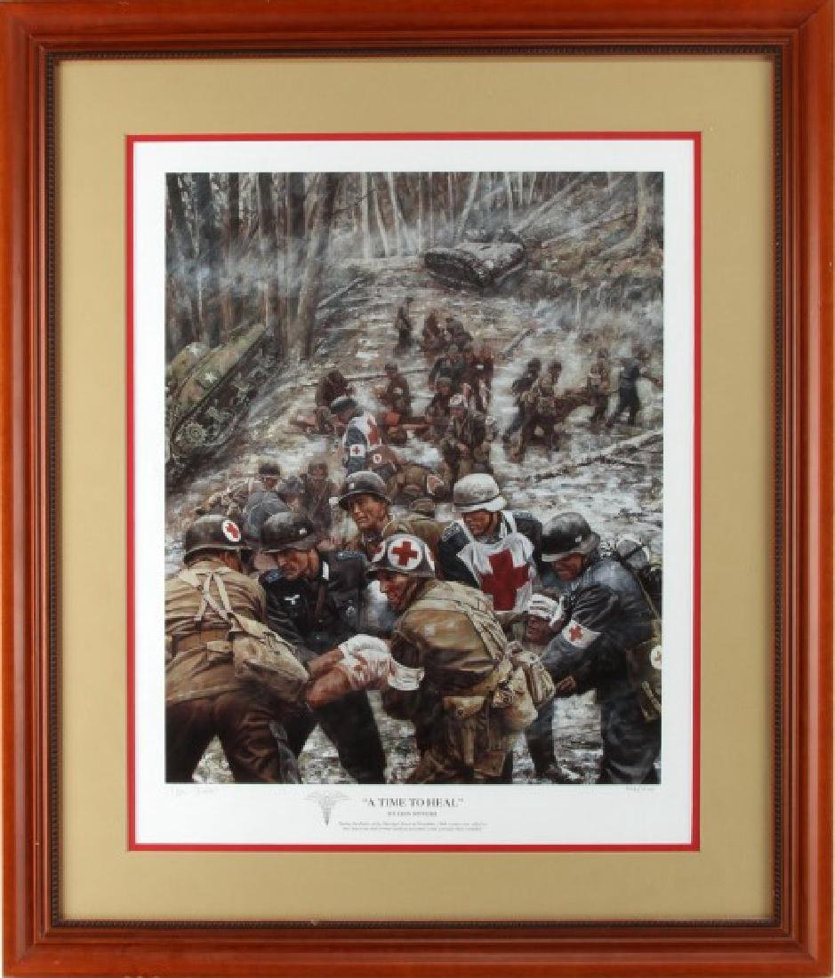 A TIME TO HEAL LIMITED ED LITHO DON STIVERS SIGNED