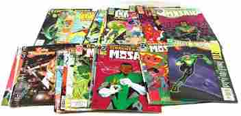 GROUPING OF 30 BRONZE AGE  LATER COMIC BOOKS