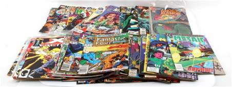LOT OF 50 ASSORTED BRONZE AGE  NEWER COMIC BOOKS