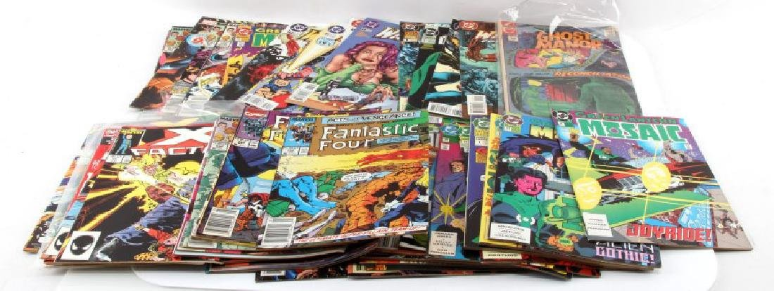 LOT OF 50 ASSORTED BRONZE AGE & NEWER COMIC BOOKS