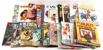 GROUPING OF 40 SILVER  BRONZE AGE COMIC BOOKS
