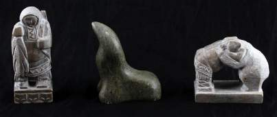 INUIT SOAPSTONE CARVINGS FROM LYNDHURST PLANTATION