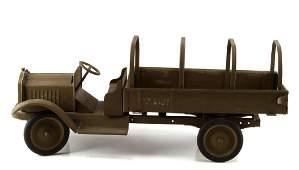 1920'S KEYSTONE PACKARD US ARMY TOY TRUCK