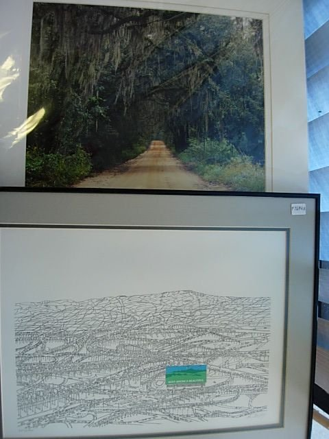 BRUCE JOHNSON LMT ED PEN INK LITHO RUSSELL GRACE PHOTO
