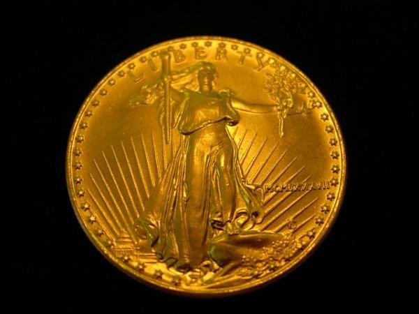 1987 GOLD AMERICAN EAGLE 1 OZ COIN $50 COIN