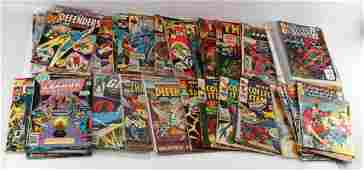 LOT OF 50 SILVER AND BRONZE AGE COMICS