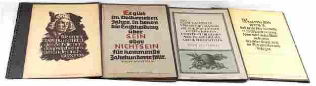 40 GERMAN WWII THIRD REICH PROPAGANDA POSTERS