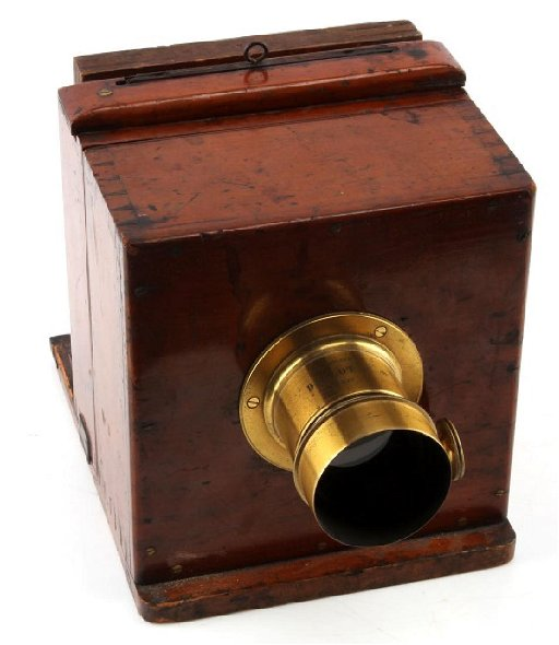 Antique C 1845 Daguerreotype Sliding Box Camera