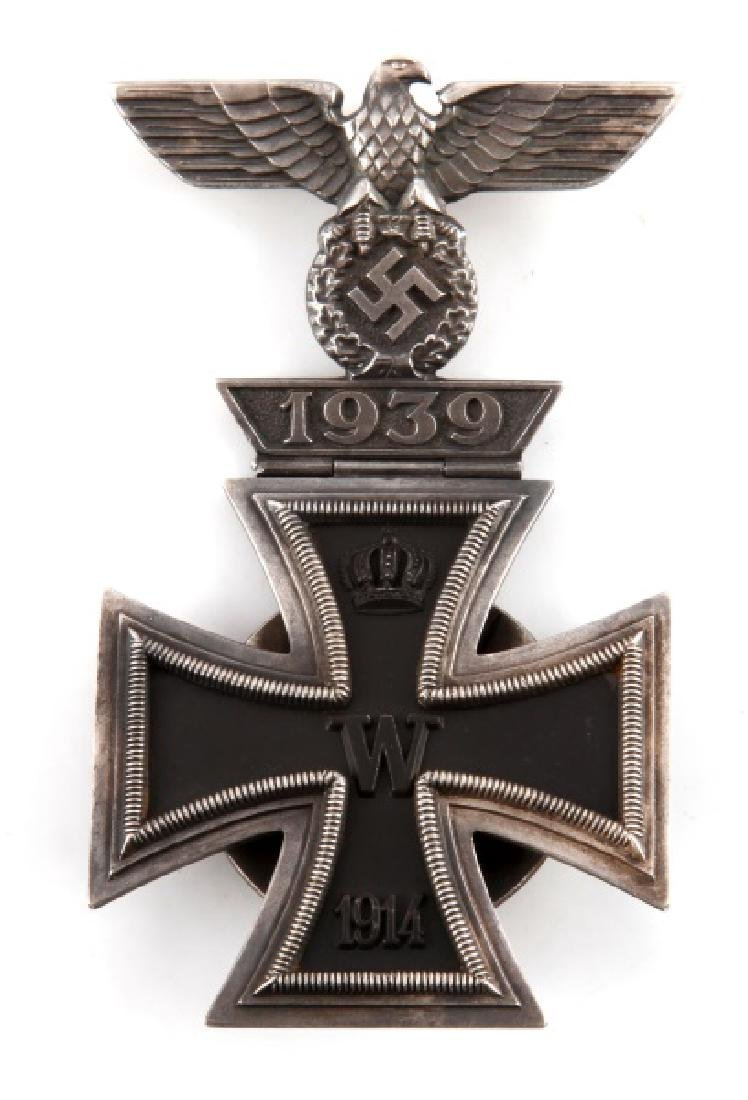 WWII GERMAN 3RD REICH 2ND CLASS IRON CROSS &SPANGE