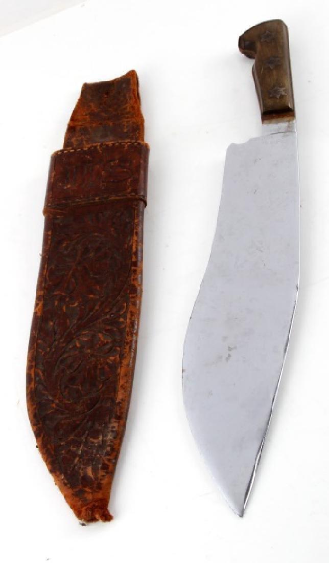 TEXAS RANGER STYLE KNIFE 12 INCHES W SHEATH