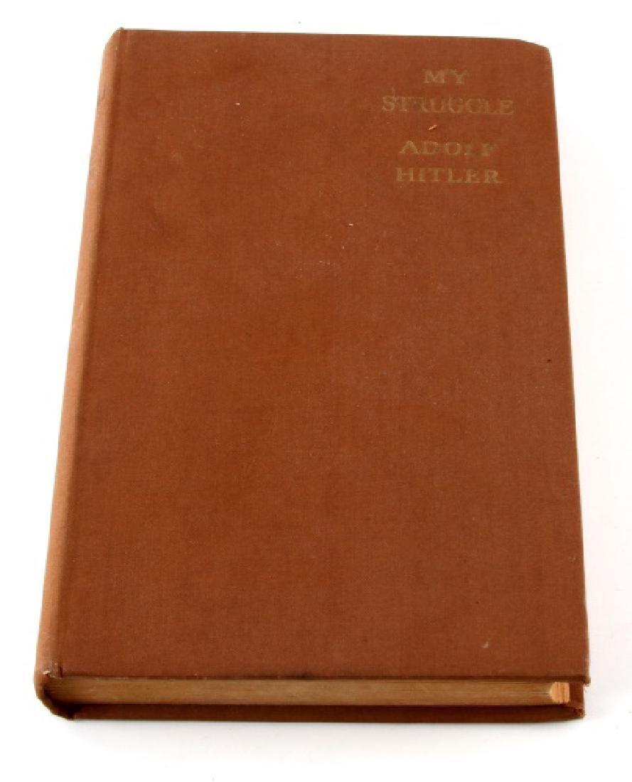 MEIN KAMPF MY STRUGGLE ADOLF HITLER BOOK 1938 ED